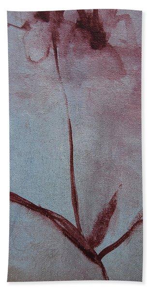 Botanical Flowers Hand Towel