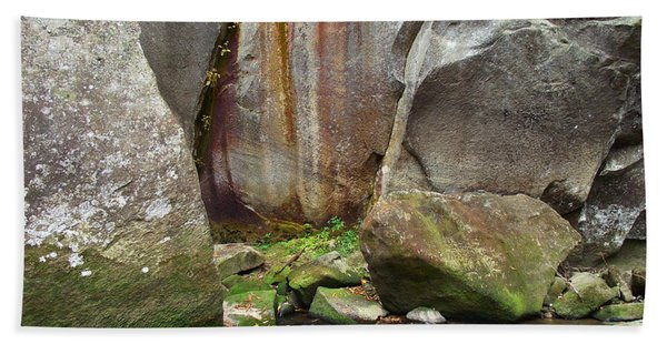 Boulders By The River Hand Towel