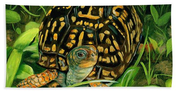 Box Turtle Hand Towel