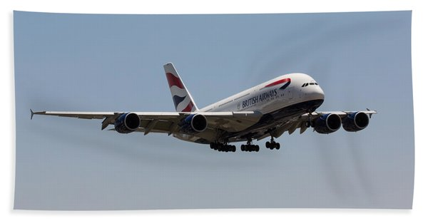 British Airways A380 Bath Towel