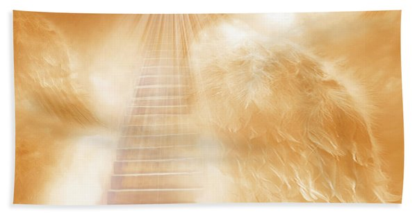 Brush Of Angels Wings Hand Towel