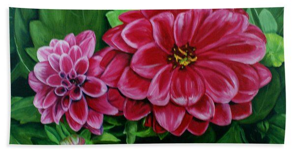 Buds And Blossoms Hand Towel