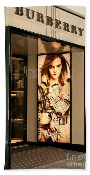 Burberry Emma Watson 01 Bath Towel