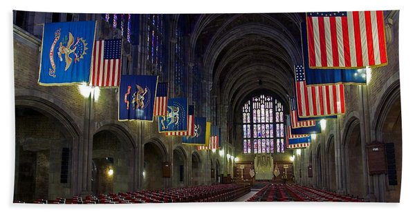 Cadet Chapel At West Point Hand Towel