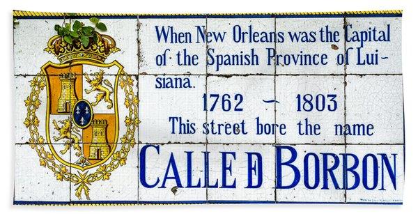 Calle D Borbon Bath Towel