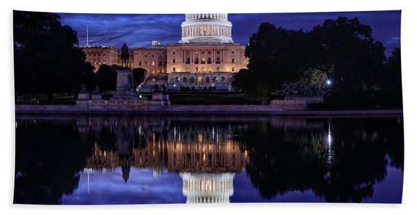 Capitol Morning Bath Towel