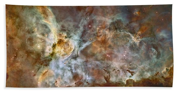 Carinae Nebula Bath Towel
