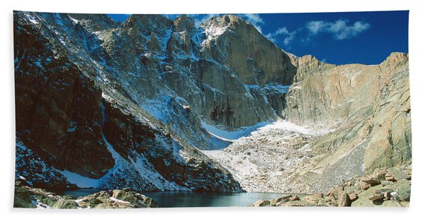 Chasm Lake Hand Towel