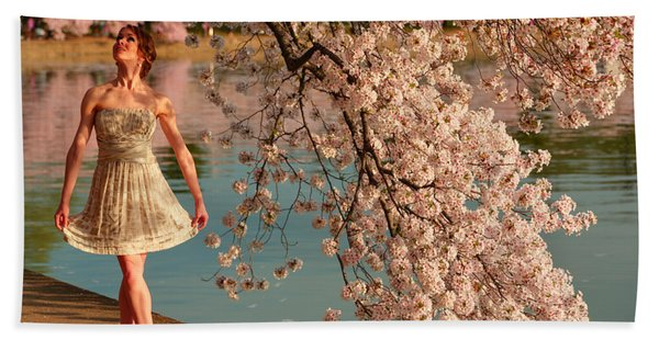 Cherry Blossoms 2013 - 082 Bath Towel