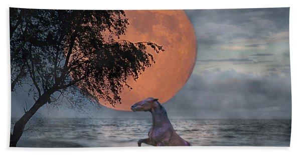 Claiming The Moon Bath Towel