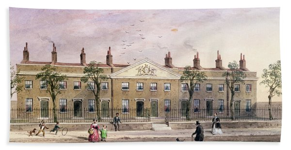 Clothworkers Almhouses In Frog Lane Wc On Paper Hand Towel