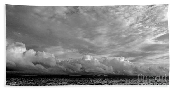 Clouds Over Alabat Island Bath Towel