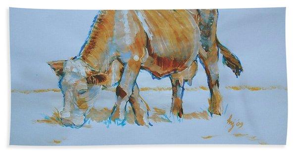 Cow Painting Bath Towel