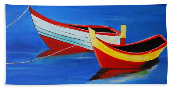 Cruising On A Bright Sunny Day Bath Towel