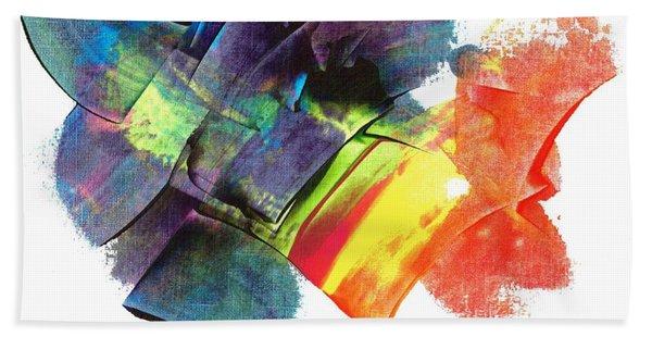 Crystaline Rainbows Hand Towel