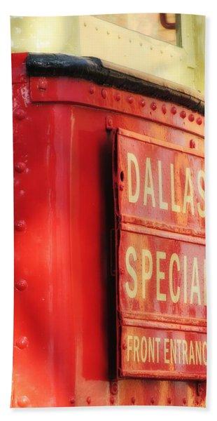 Dallas Special Front Entrance Bath Towel
