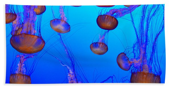 Dance Of The Jellyfish Hand Towel