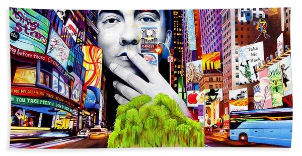 Dave Matthews Dreaming Tree Hand Towel