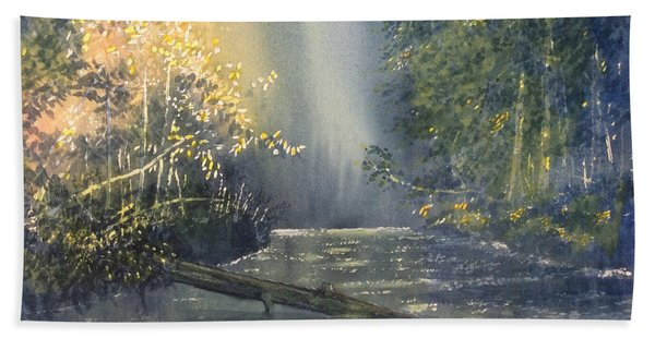 Dawn On The Derwent Hand Towel