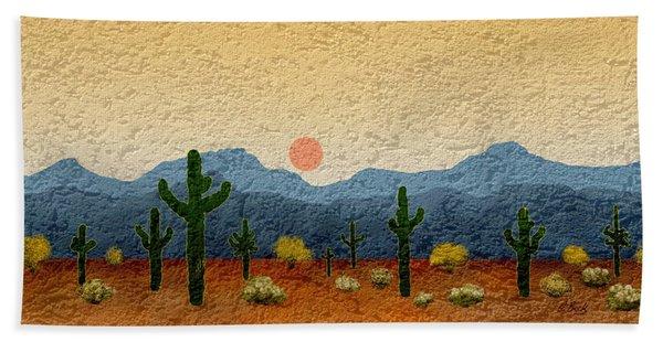 Desert Impressions Bath Towel