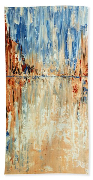 Desert Mirage Bath Towel