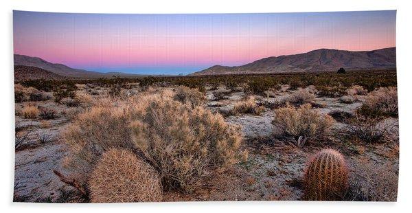 Desert Twilight Bath Towel