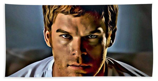 Dexter Portrait Hand Towel