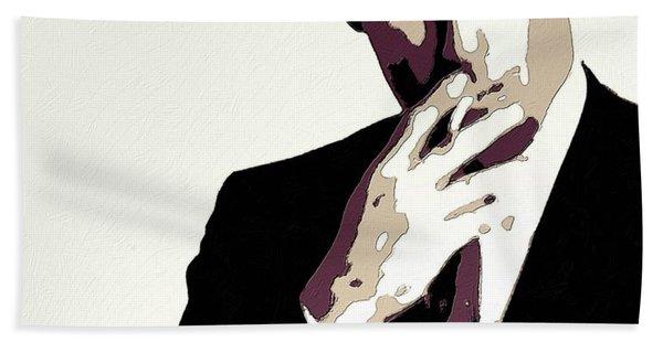 Don Draper Poster Art Hand Towel