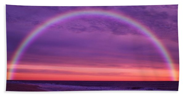 Dream Along The Ocean Bath Towel