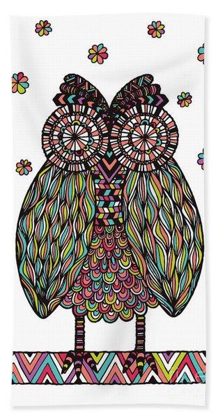 Dream Owl Hand Towel
