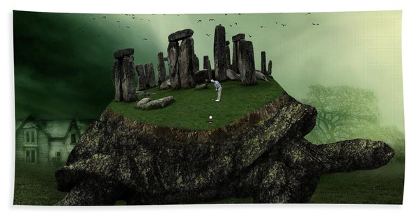 Druid Golf Bath Towel