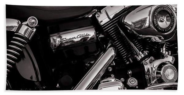 Dyna Super Glide Custom Bath Towel