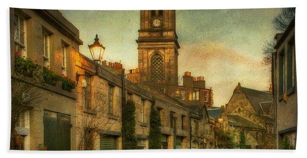 Early Morning Edinburgh Bath Towel