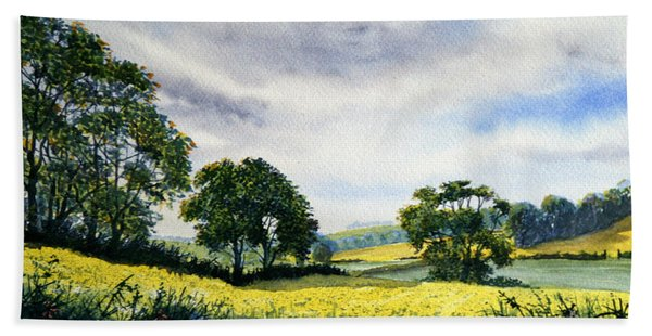 Eastfields From Woldgate Bath Towel