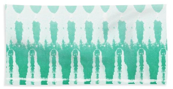 Emerald Ombre  Hand Towel