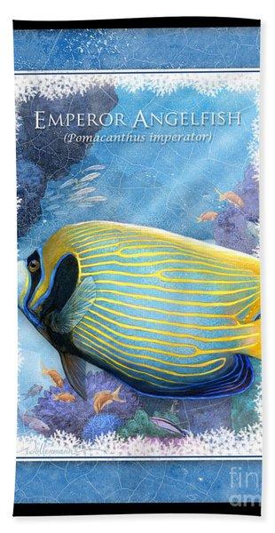 Emperor Angelfish Hand Towel