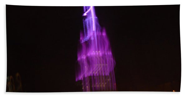 Empire Light Blur Bath Towel