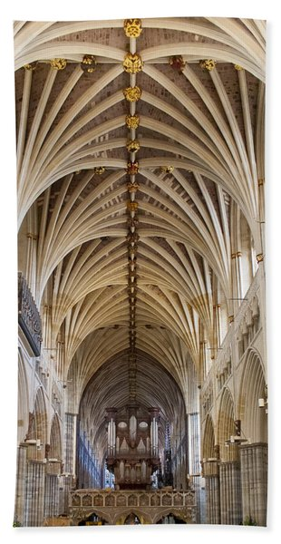 Exeter Cathedral And Organ Hand Towel