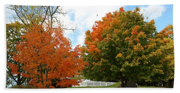 Fall Foliage Colors 09 Bath Towel