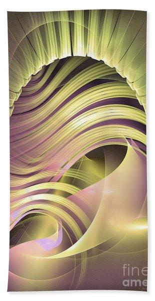 Fascinatio Lucis - Abstract Art Hand Towel