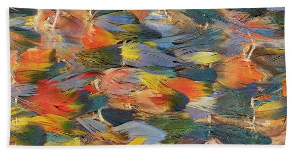 Feathered Cape Bath Towel