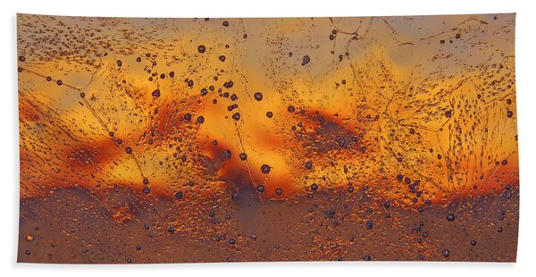 Fiery Horizon Hand Towel