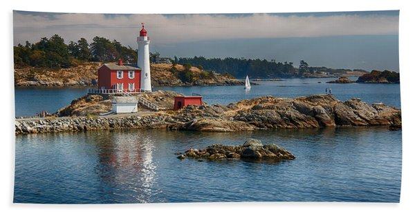 Fisgard Lighthouse Hand Towel