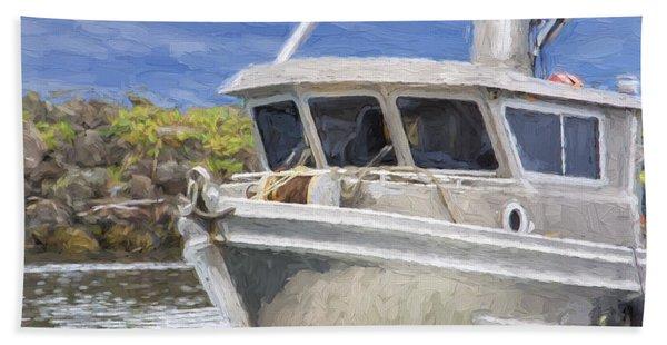 Fisherman's Prayer - West Coast Art Hand Towel