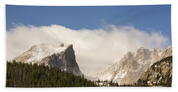 Flat Top Mountain - Rocky Mountain National Park Estes Park Colorado Hand Towel