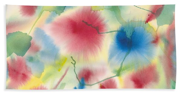 Floral Burst Bath Towel