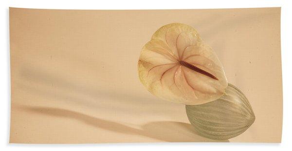 Flowers In Vases1 Bath Towel
