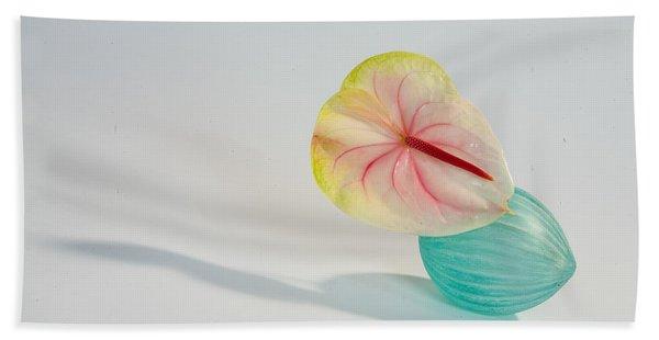 Flowers In Vases2 Bath Towel