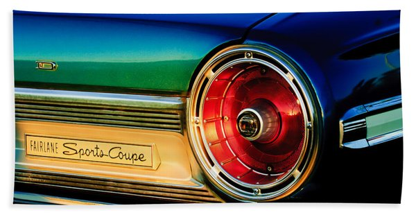 Ford Fairlane Sports Coupe Taillight Emblem Hand Towel
