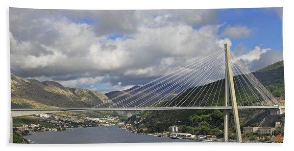Franjo Tudman Bridge Bath Towel